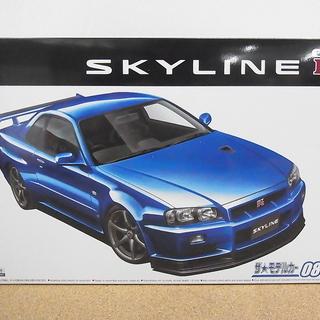 アオシマ 1/24 スカイライン GT-R R34