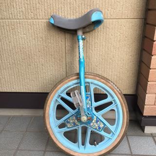 一輪車 青色