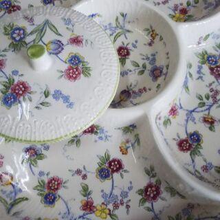 オードブル皿(蓋付き)の画像