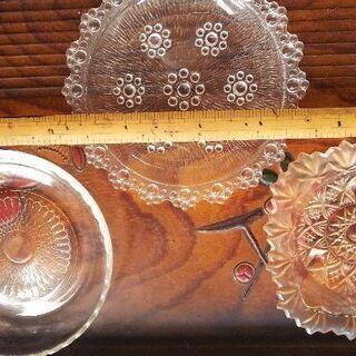 ガラス皿各種 - 松江市