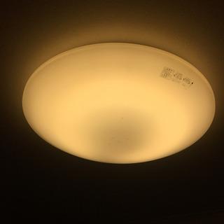 シーリングライト 電球色 八畳用