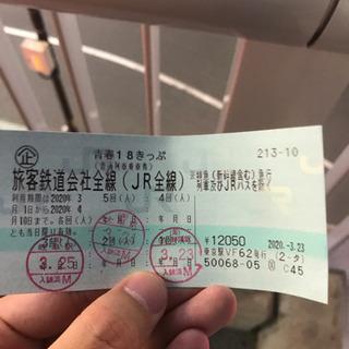 青春18きっぷ 青春18切符