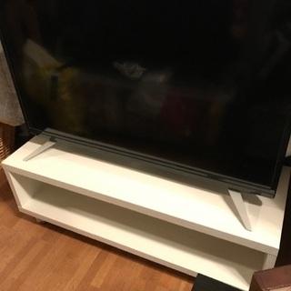 2018年製32型液晶テレビ+テレビ台セット