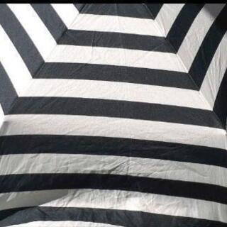 急募🔊 未使用に近い❕折り畳み傘 2️⃣セット ブラックボーダー...