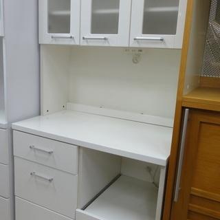NITORI/ニトリ レンジボード 食器棚 ホワイト 【ユーズド...