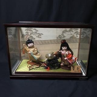 わらべ人形【宝車】《雛祭り ひなまつり 三月人形 美術品》