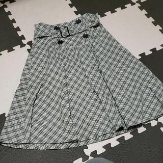 バーバリーブルーレーベル チェック スカート