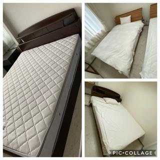 引き出し付きダブルベッド フランスベッド