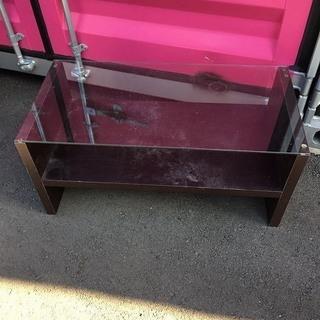 ガラス テーブル デスク 居間 リビングテーブル 業務用