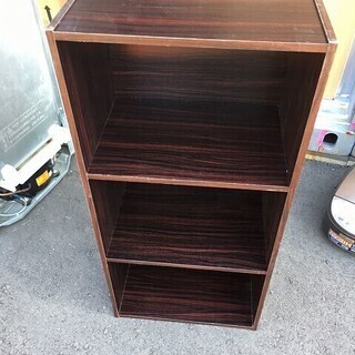 3段 カラーボックス 本棚 ブックシェルフ ブックケース 小物 収納