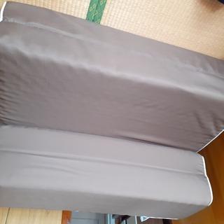 ニトリ ソファーになる 折り畳みマットレスSケース付き