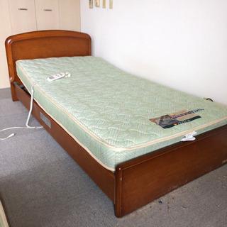 フランスベッド 電動リクライニング機能付き 電動ベッド シ…