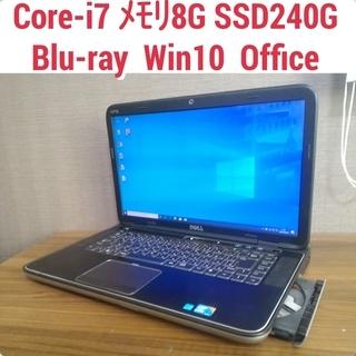 Core-i7 メモリ8G SSD240G Blu-Ray Of...