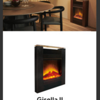 新品未開封 Dimplex電気暖炉 ブラック定価7万以上