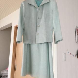 入園式に⭐️春色スーツ