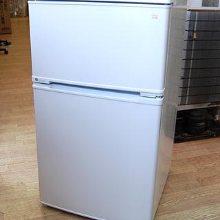 2ドア冷蔵庫 90L 18年製 ユーイング UR-D90J ホワ...