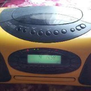 サンヨーCD.ラジオカセット