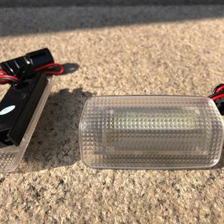 プリウス30系他 LED点滅ドアカーテンランプ左右2個セット