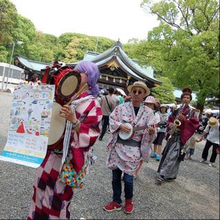 地域密着型で効果的な街頭宣伝・集客は、ちんどん屋『三ヶ根宣伝社』 − 愛知県
