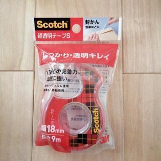 ※新品※Scotch 超透明テープS