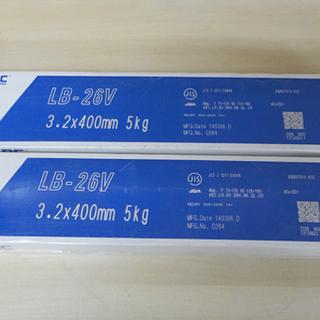 保管未使用品 神戸製鋼 コベルコ 溶接棒 LB-26V 3.2×...