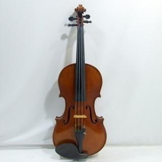 ビンテージ アンティーク ドイツ製 4/4 バイオリン WILHERM HAMMIG 'SAMPO' の ストラディバリウスタイプ - 楽器