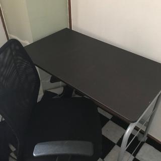 パソコンデスク 椅子 セット 美品