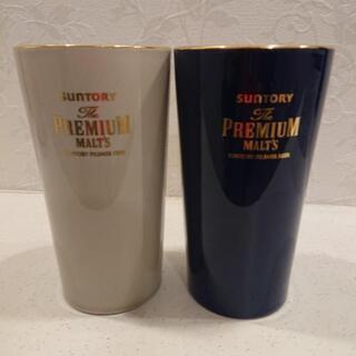 ザ・プレミアムモルツ陶製タンブラー、新品、未使用