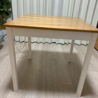 ナフコ テーブル+チェア1脚