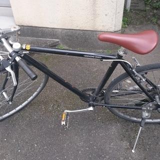 【ジャンク】クロスバイク(一応乗れます)