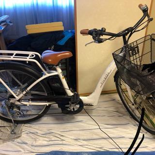 bicycle-454assist電動自転車 5段変則