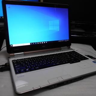 ノートパソコン NEC LaVie Windows10 CPU ...
