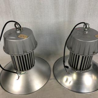 2個 日動工業 LEDメガライト LJS-100PE 動作確認済...