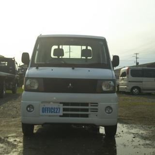 三菱ミニキヤブトラック4WD  エアコン パワステ