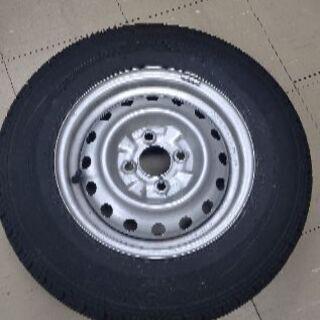 スチールホイール付タイヤ4本セット