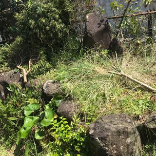 庭石・石灯籠・植木鉢※引き取りに来ていただける方のみ