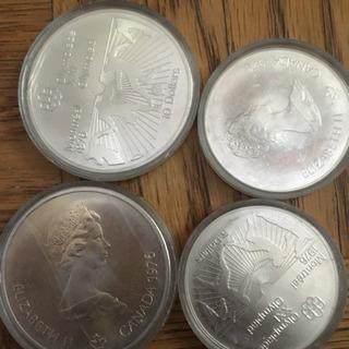 【再値下げ】古銭+カナダ五輪記念メダルセット