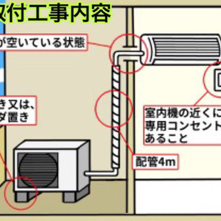標準取付工事無料*富士通ゼネラル ノクリア 2019年製 6畳用*2台set - 家電