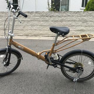 クッション 切り替え6段階付き 折り畳み自転車