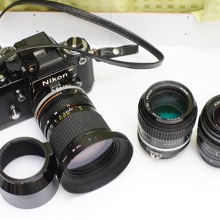 NikonF2  28-85  105  PC35セット
