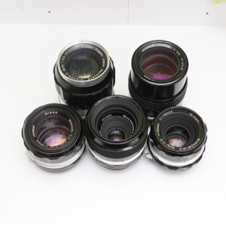 Nikon 単焦点レンズ5本セット