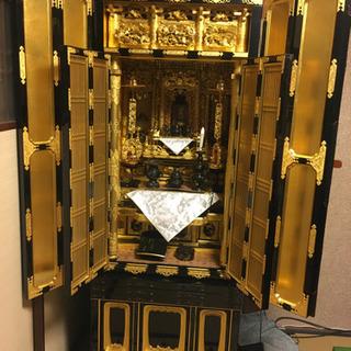 140万本格高級純金仏壇 三割欄間  浄土真宗 金箔