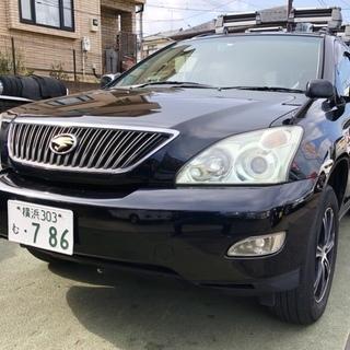 格安 検長 H16年式 ハリアー 240GLパケ 4WD 純正ナ...