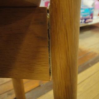 日進木工 セミアームダイニングチェア 板座 天然木 食卓椅子  - 売ります・あげます