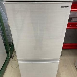 18年製 SHARP 2ドア冷蔵庫 SJ-D14D-W