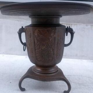 花器 銅製
