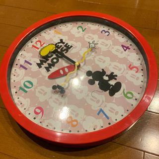 可愛い掛け時計!ミッキーマウス