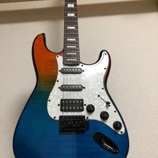 エレキギター 使用2回