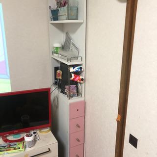 【ベストサイズなスキマ家具が0円!】上下の分解が可能です!