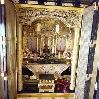 大型 立派な金仏壇✨本体(定価約400万)H182、W95『浄土...